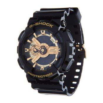 G-Shock Men's Analog Digital Goldtone Black Resin Watch