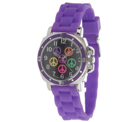 Jelly Style Watch with Mood Changing Face Color