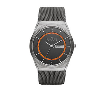 Skagen Men's Stainless Steel Mesh Bracelet Watch - J313950