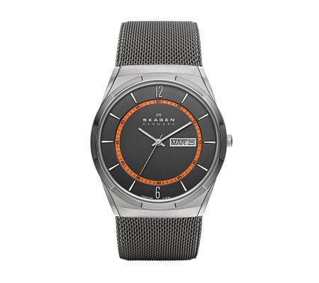 Skagen Men's Stainless Steel Mesh Bracelet Watch