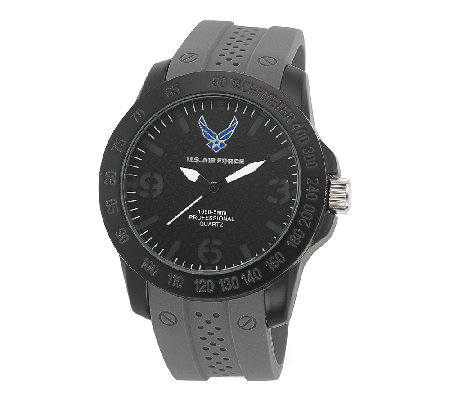 Wrist Armor Men's U.S. Air Force C26 Stealth &Gray Watch