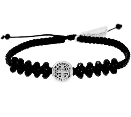 My Saint My Hero Stairway to Heaven Crystal Bracelet