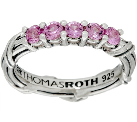 Peter Thomas Roth Sterling Colors of Sapphire Band Ring