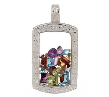 Attitudes by Renee Sterling8.50ctt Multi-gemstone Enhancer