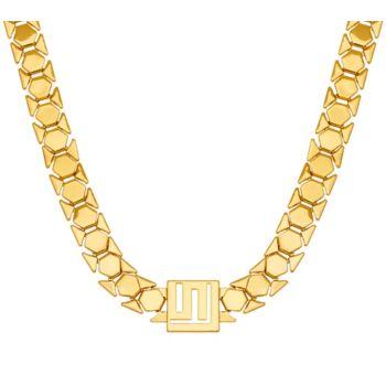 Stella Valle Logo Chain Necklace by Lori Greiner