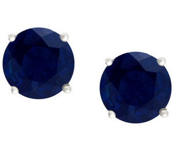 Premier 1.00 cttw Sapphire Stud Earrings, 14K G old - J338151