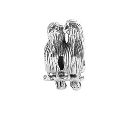 Prerogatives Sterling Love Birds Bead