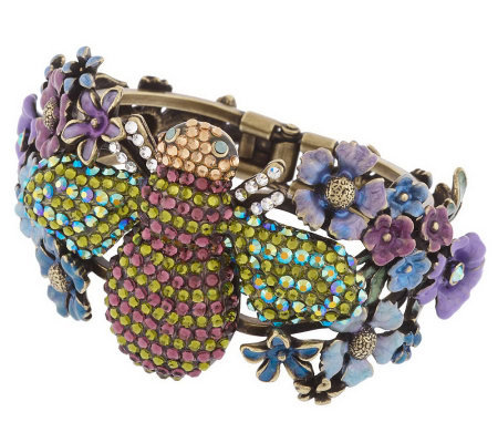 Kirks Folly To Bee or Not To Bee Hinged Cuff Bracelet