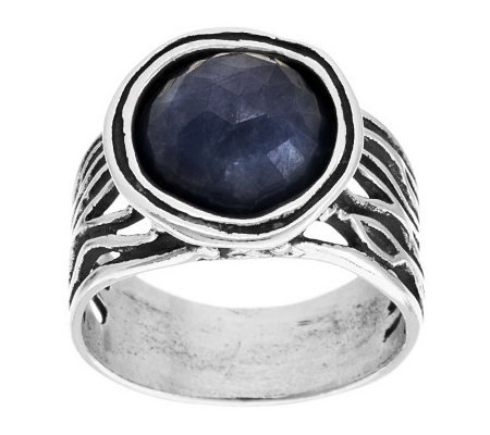 Or Paz Sterling Limited Edition 7.00 ct Sapphire Ring