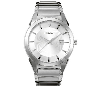 Bulova Men's Stainless Steel Bracelet Watch - J316452