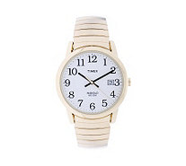 Timex Men's Goldtone Expansion Easy Reader Watch - J103753