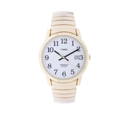 Timex Men's Goldtone Expansion Easy Reader Watch