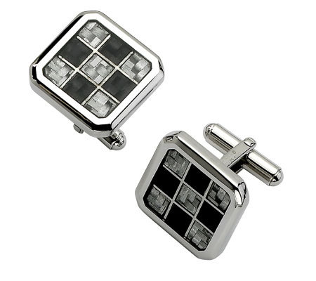 Forza Black and Gray Cuff Links