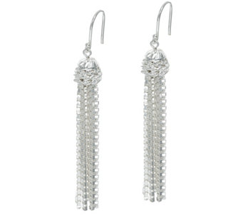 Tassel Drop Earrings by Silver Style - J329453