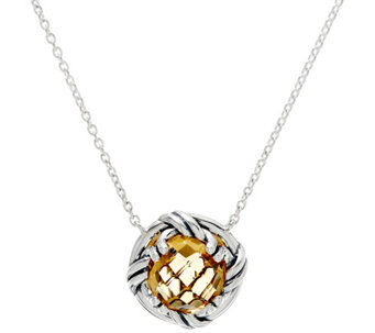 Peter Thomas Roth Sterling Fantasies 3.55 ct Citrine Necklace - J330953