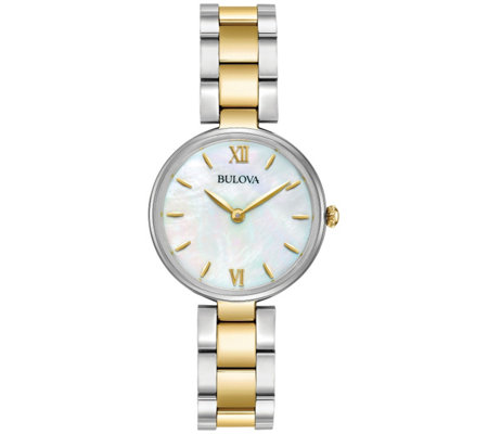 Bulova Ladies' Classic Stainless Steel BraceletWatch