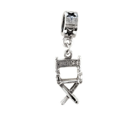 Prerogatives Sterling Director's Chair Dangle Bead