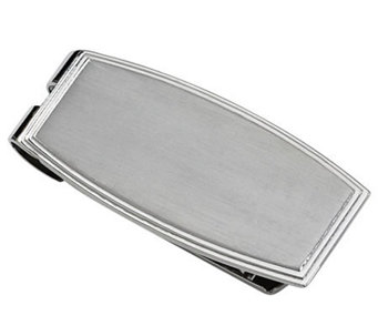 Forza Stainless Steel Rectangular Money Clip - J109454