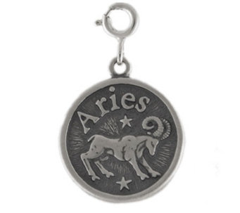 Sterling Zodiac Aries Charm - J113654