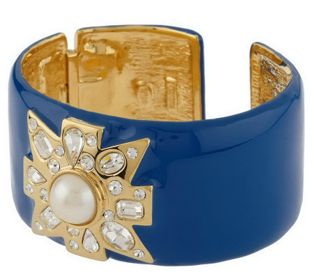 """As Is"" KJL Valletta Cuff Bracelet"