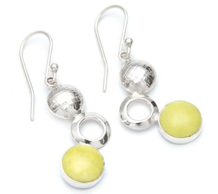 "Novica Artisan Crafted Sterling ""Bubbling"" Dangle Earrings"