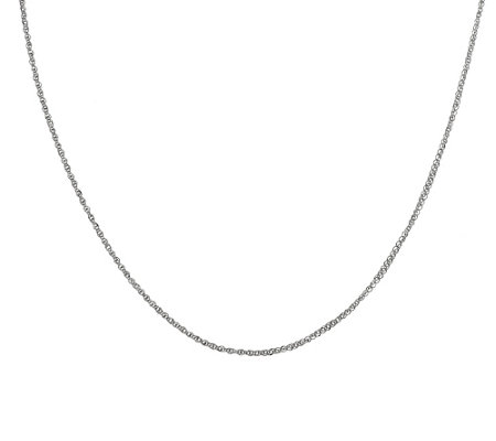 """As Is"" EternaGold 18"" Diamond Cut Singapore Necklace 14K"
