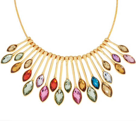 LOGO Links by Lori Goldstein Radiant Rainbow Necklace
