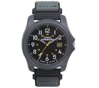Timex Men's Camper Expedition Watch with BlackNylon Strap - J105455