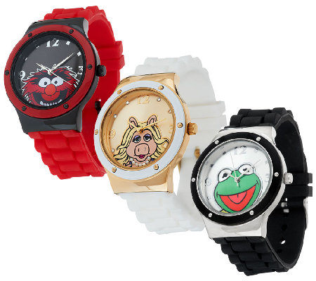 Muppets Set of 3 Watches