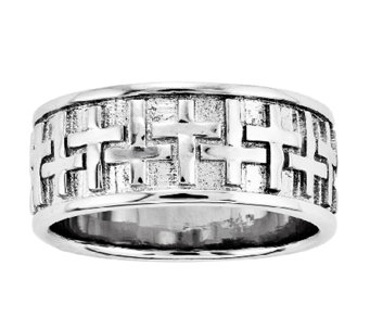 Sentimental Expressions Sterling Silver Transformed Men's Rin - J338855
