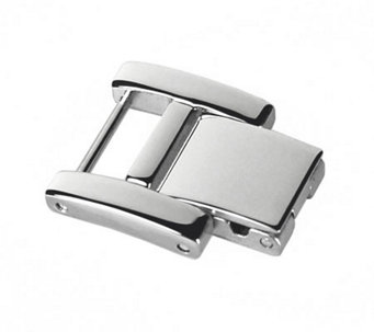 Ecclissi Silvertone Stainless Steel Watch Extender Clasp - J342655