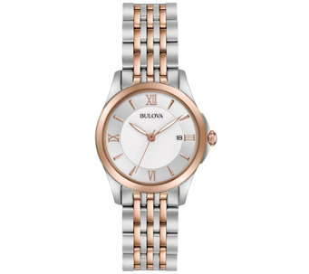 Bulova Ladies' Classic Two-tone Bracelet Watch - J343955