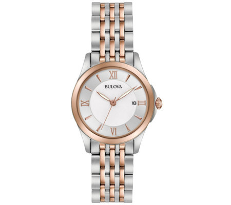 Bulova Ladies' Classic Two-tone Bracelet Watch