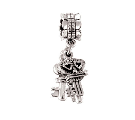 Prerogatives Sterling Keys Dangle Bead