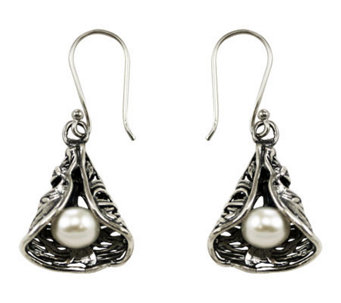 Or Paz Sterling Cone Design Earrings - J111356