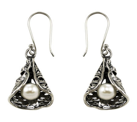 Or Paz Sterling Cone Design Earrings
