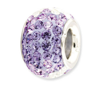 Prerogatives Sterling Bluish-Purple Crystal Bead - J113156
