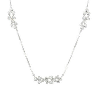"""As Is"" Killarney Crystal Sterling Silver Necklace - J286756"