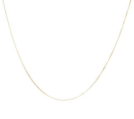 "EternaGold 24"" Choice of Chain Necklace, 14K"