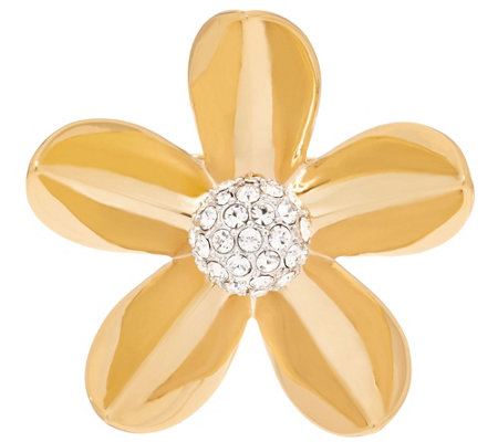 Grace Kelly Collection Floral Brooch