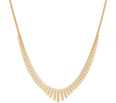 "Imperial Gold 20"" Statement Necklace, 14K Gold, 20.1g"