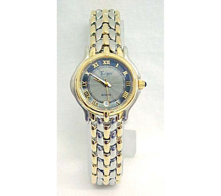 Luger Swiss Ladies Dress Bracelet Watchlug1722 Qvc Com