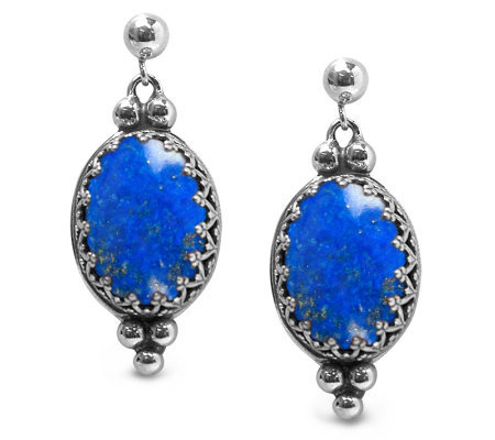 Carolyn pollack turquoise or lapis vintage earrings page for Carolyn pollack jewelry qvc