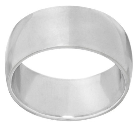 Sterling Polished Classic Band Ring
