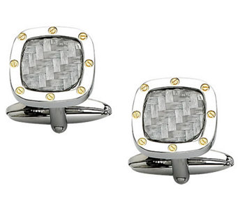 "Forza 1/2"" Polished Cuff Links - J302157"