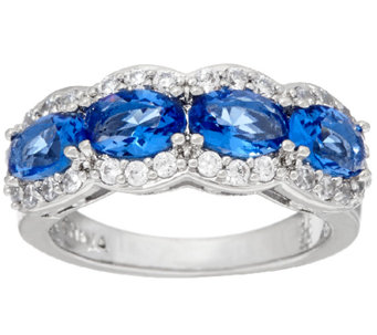 The Elizabeth Taylor Simulated Gemstone Band Ring - J321757