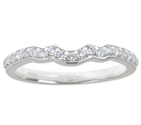 Diamond Wedding Eternity Band Ring, 14K,by Affinity