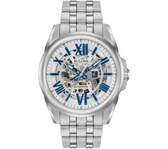 Bulova Men's Automatic Stainless Steel Watch - J343857
