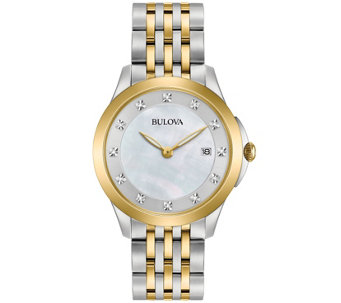 Bulova Ladies' Diamond Accent Watch - J343957