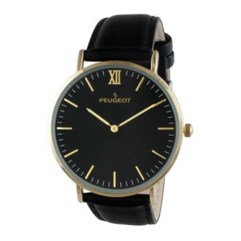 Peugeot Men's Slim Goldtone Watch
